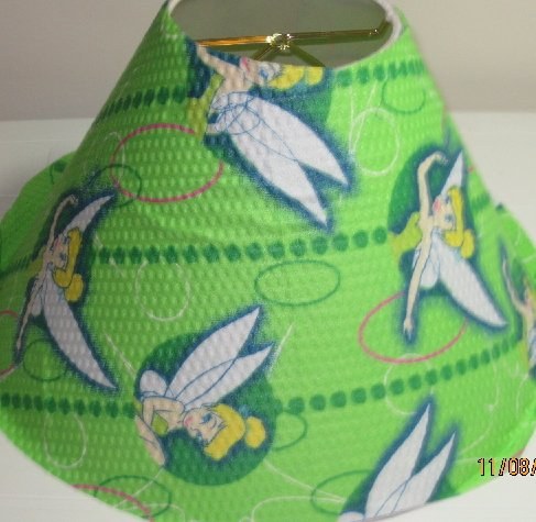 Tinkerbell Green Lamp Shade