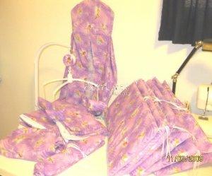 Tinkerbell Fairies 9 pc Nursery Set