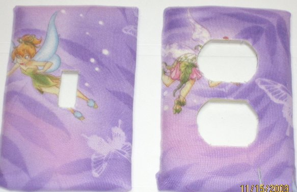 Tinkerbell Fairies Switch & Outlet Covers