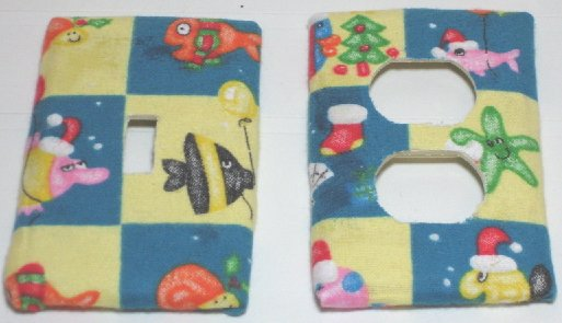 Christmas Fish Switch & Outlet Covers