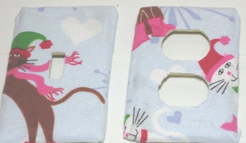 Christmas Cats Switch & Outlet Covers