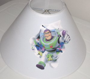 Buzz Lightyear Lamp Shade