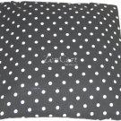 Black and White Polka Dot Ceiling Light Cover