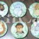 Jungle babies Plastic Drawer Knob - set of 6
