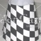 Black & White Checkered Night Light Lamp Shade