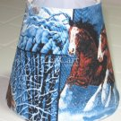 Horses in Snow Night Light Lamp Shade