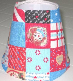 Raggedy Ann & Andy  Night Light Lamp Shade