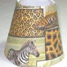 Safari Print Night Light Lamp Shade