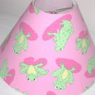 Frog Fun Lamp Shade