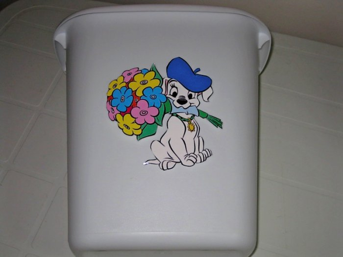 101 Dalmatian Trash Can