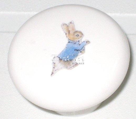 Beatrix Potter Peter Rabbit Plastic Drawer Knob