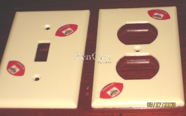 Ohio State Buckeyes Switch & Outlet Covers