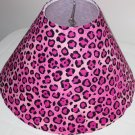 Cheetah Hot Pink lamp Shade