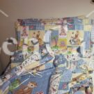 Bazooples Patchwork Toddler Bedding Set
