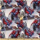 Spiderman City Block Toddler bedding set