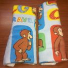 Curious George Car Strap Covers