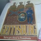 "RARE Gettysburg ""you have a friend in Pennsylvania"" Poster"