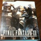 BRADY GAMES FINAL FANTASY XII LIMITED EDITION strategy GUIDE ART BOOK ASHE COVER