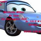 Disney Cars Baby shower invitations