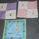 3 Large Tinkerbell Wall Hangings
