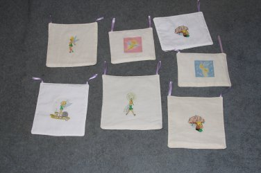 7 Tinkerbell Wall Hangings