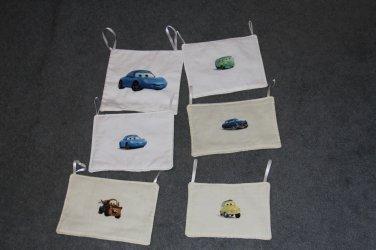 6 Disney Pixar Cars Wall Hangings