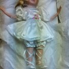 """Porcelian Ballerina Doll """"Carlie"""" Heritage Signature Collection New In Box"""