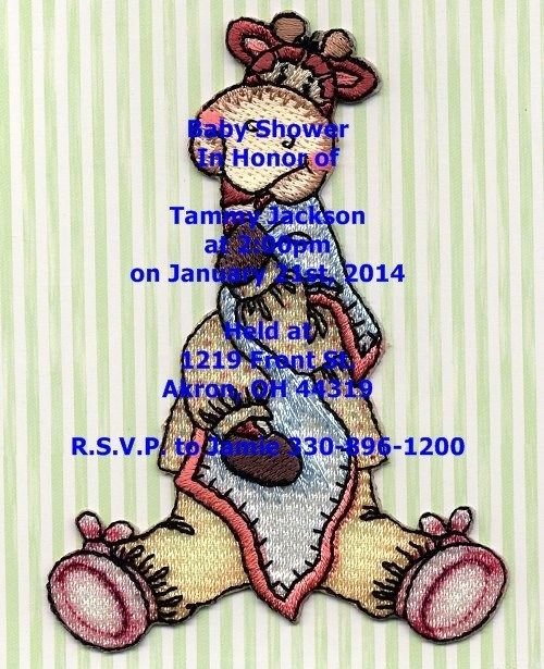Quanity 10 Personalized Baby Shower Invitations, Disney Babies, Cars