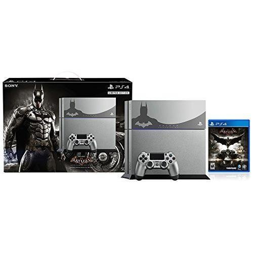 PlayStation 4 500GB Console - Batman Arkham Knight Bundle Limited Edition New