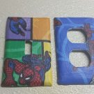 Spiderman Set of 5 Light Switch Outlet Covers