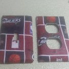 Cleveland Cavs set of 5 Light Switch Outlet Covers