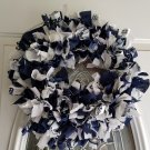 Dallas Cowboys Rag Wreath