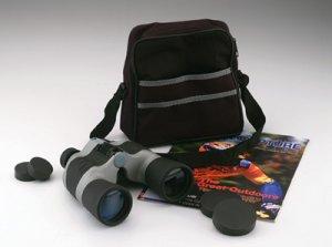 Magnacraft 10 x 50 Black and Gray Binocular with case.