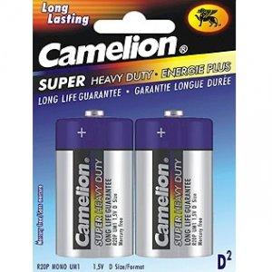 """D"" Super Heavy Duty Batteries - 2 Pack"