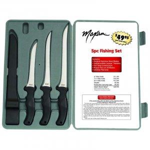 Maxam 4pc Fish Fillet Knife Set