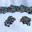 Florenza Rhinestone, Art Glass Demi