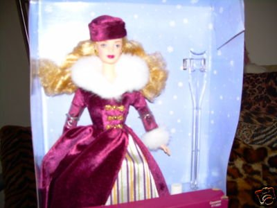 Victorian Ice Skater Barbie Special Edition Avon - Caucasian version