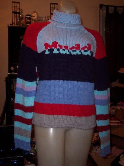 Mudd Tutrleneck Sweater - Large