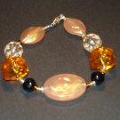Amber Creme Bracelet