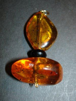 Amber Dot Pendant