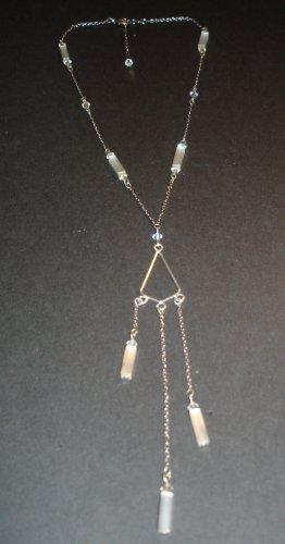 Silver & Light Purple Fusion Necklace