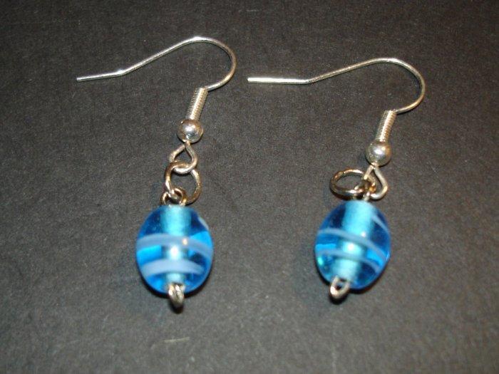 Blue Milk Earrings