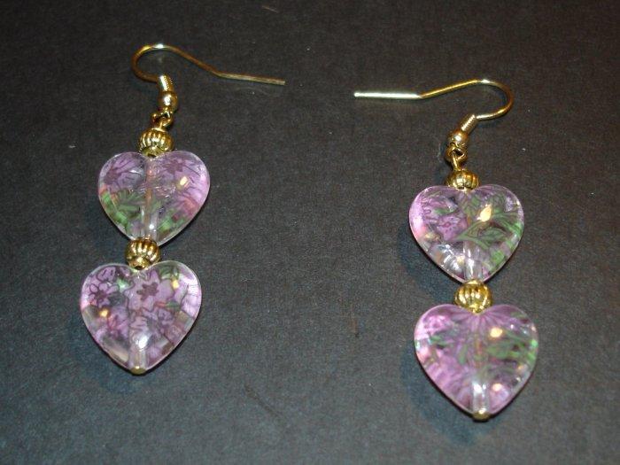 Gold Flower Power Earrings