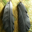 Recycled Feather Earrings
