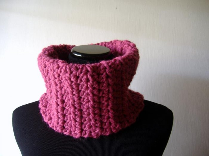 the barbie girl cowl.