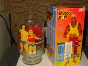 Hulk Hogan Thunder Mixer and Glass