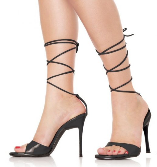 """Fresh"" - Women's Open Toe Ankle Lace Up Heels/Shoes"