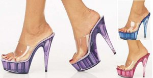 Cover Girl - Women's Platform Heel with Color Tint