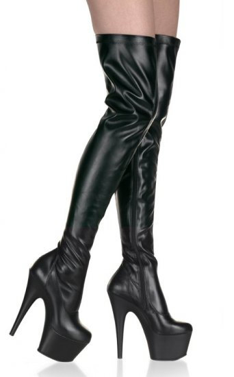 Adore - Women's Stretch Thigh High Platform Boots