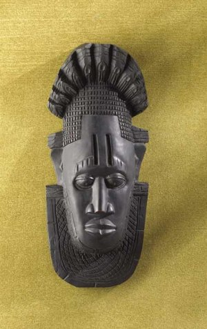 AFRICAN TRIBAL MASK--Item #: 33295